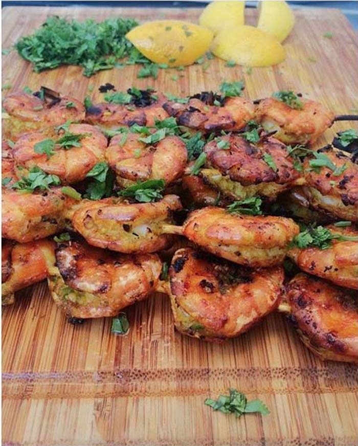 Spicy Garlicky Shrimp