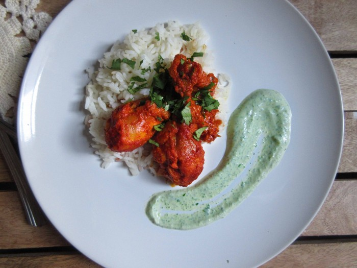 Saucy Tandoori Chicken