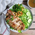 Vietnamese Grilled Chicken Salad