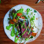Spicy Steak Tacos with Onion Relish