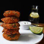 Piyaju (Red Lentil Fritters)