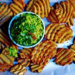Guacamole and Fries