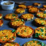 Roasted Sweet Potatoes with Dijon & Maple