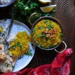 Daal (Spicy Garlicky Red Lentil)