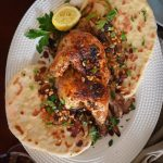Broiled Sumac Chicken w/ Pine Nuts and Onion